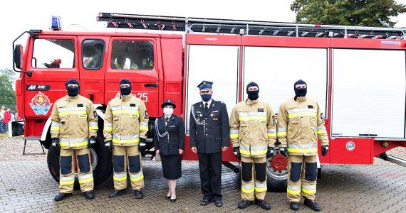 OSP Krzyżówki otrzymały nowy wóz ratowniczo-gaśniczy