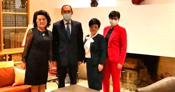 Spotkanie Polsko-francuskiej Grupy Bilateralnej w Ambasadzie Francji w Warszawie