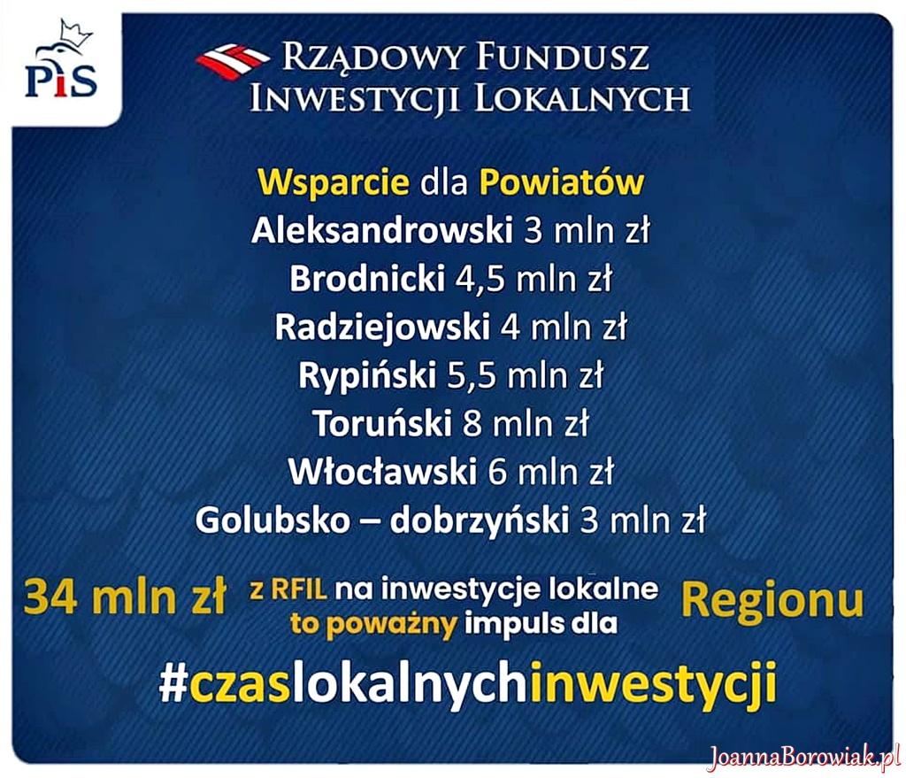 91 milionów z przeznaczeniem na inwestycje w naszym regionie
