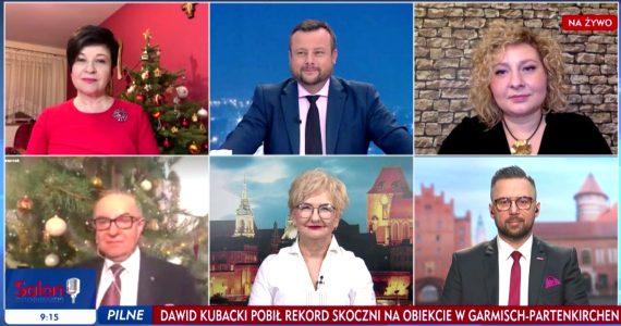 Poseł Joanna Borowiak gościem w programie Forum w TVP Info