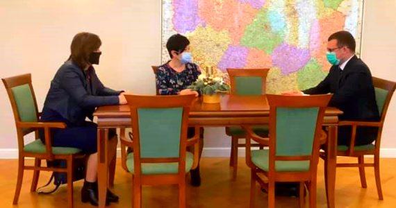 Spotkanie Poseł Joanny Borowiak z ministrem Pawłem Szefernakerem