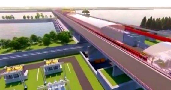 Budowa tamy na Wiśle w Siarzewie coraz bliżej