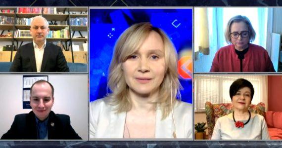 Poseł Joanna Borowiak gościem w programie TV Republika