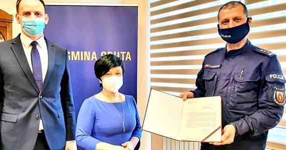 Nowy Posterunek Policji w Gminie Gruta