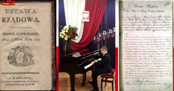 Koncert w 230. rocznicę uchwalenia Konstytucji 3 Maja, w wykonaniu artystów Powiatu Rypińskiego i miasta Rypina
