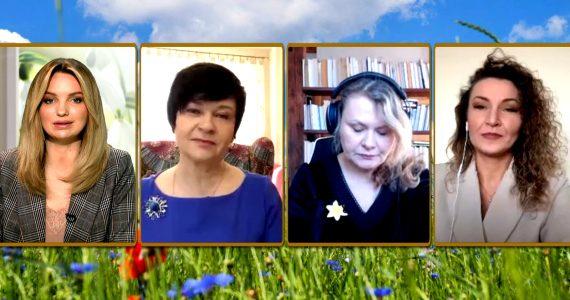 Poseł Joanna Borowiak była gościem w programie Potrójne Espresso w Telewizji Republika