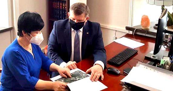 Spotkanie Poseł Joanny Borowiak z wiceministrem Wojciechem Skurkiewiczem