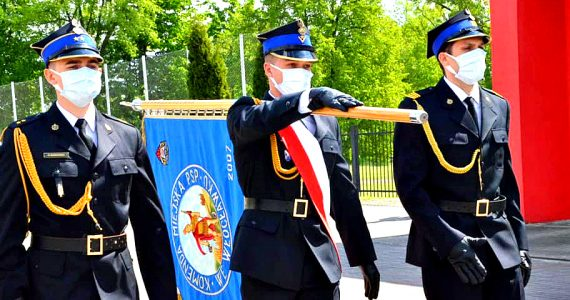 Uroczystości Powiatowego Dnia Strażaka we Włocławku