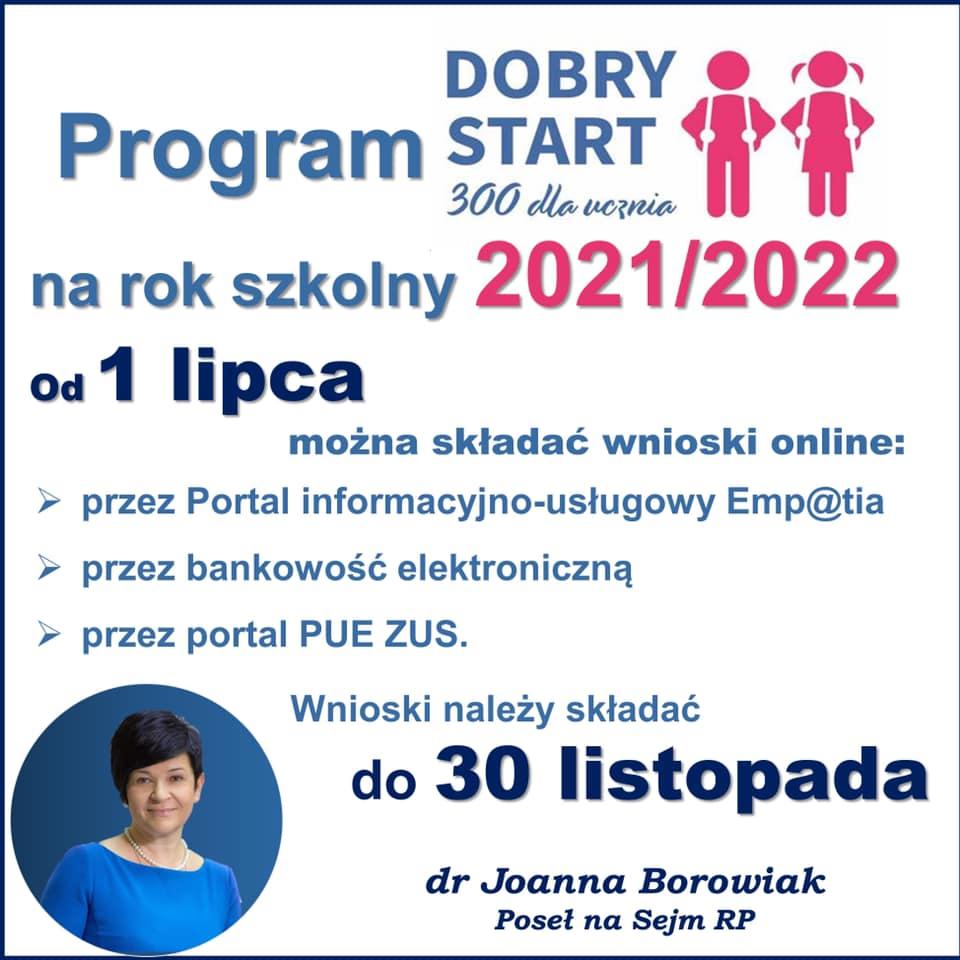 Od 1 lipca można składać wnioski na środki z programu Dobry Start