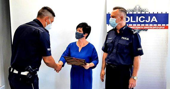 Włocławscy Policjanci uhonorowani za pomoc Seniorom