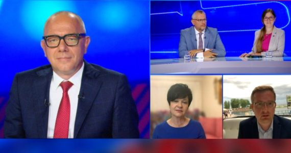 Poseł Joanna Borowiak gościem w programie Debata Tygodnia w Polsat News
