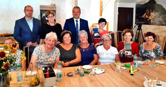 Spotkanie z Seniorami z Klubu Seniora w Brześciu Kujawskim