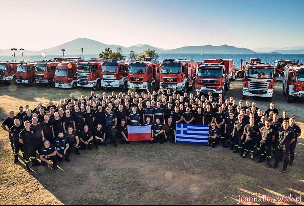 Strażacy z PSP wsparli w walce z żywiołem Turcję i Grecję