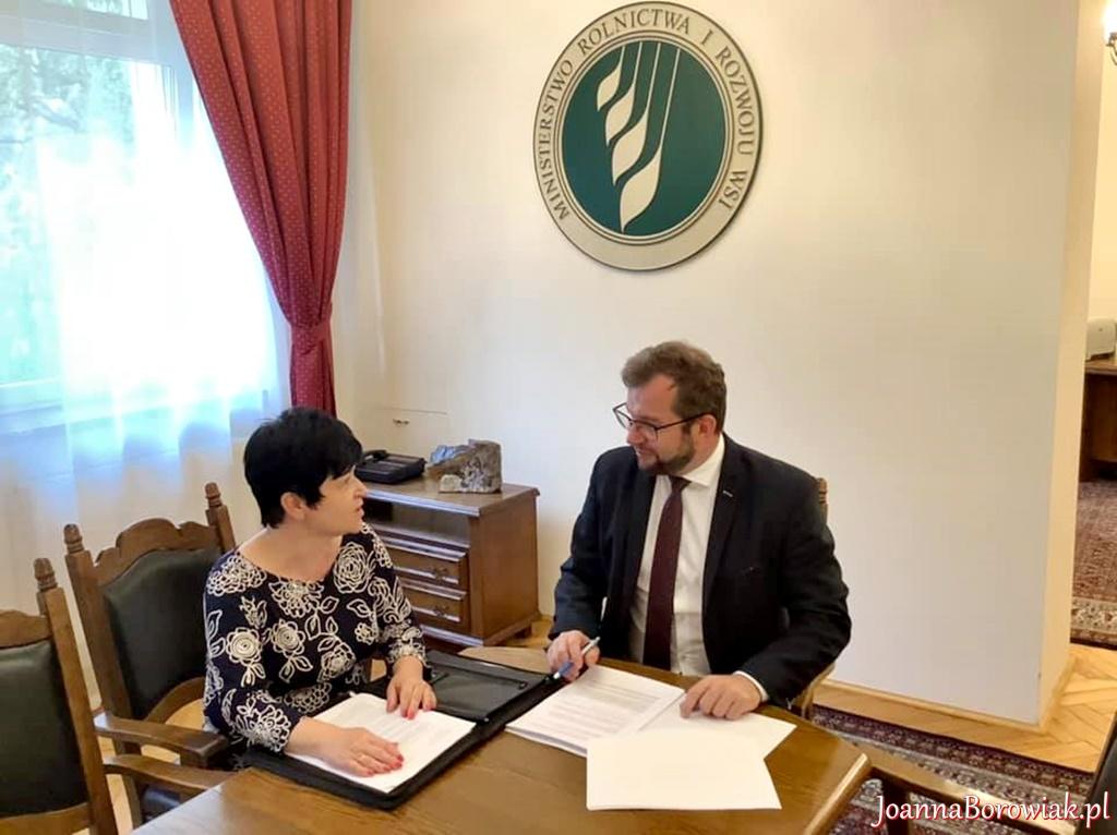 Spotkanie z Ministrem Rolnictwa w sprawie wsparcia dla polskiego pszczelarstwa