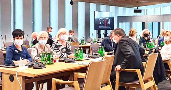 Posiedzenie Komisja Polityki Społecznej i Rodziny