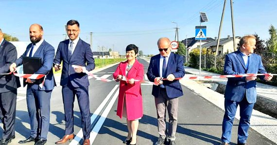Oddanie do użytku drogi powiatowej Ciechocinek-Siutkowo w miejscowości Zbrachlin