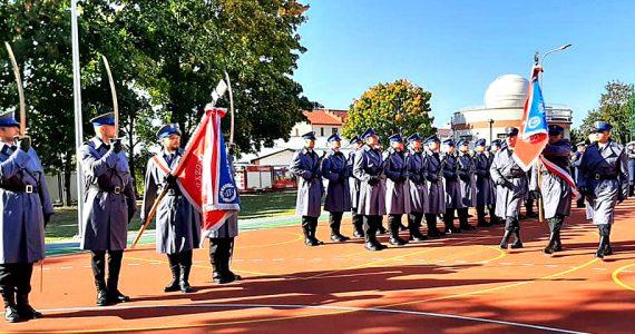 Uroczystość przekazania sztandaru dla Policji w Radziejowie